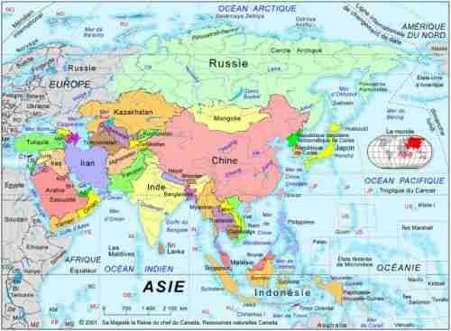Art de l'eau asiatique