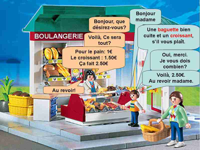 fle la boulangerie french