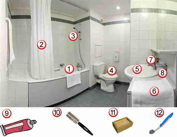 fle la salle de bains cours - Une Salle De Bain Orthographe