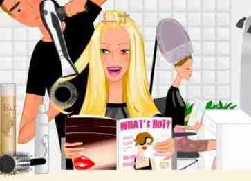 Couper les pointes des cheveux anglais