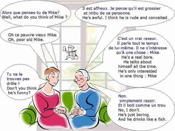 dialogue   que pensez