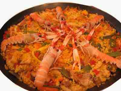 Paella espagnol - Recette de la paella espagnole ...