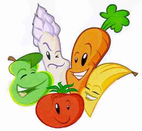 Top Fruits et légumes-anglais JX45