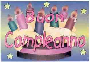 bon anniversaire traduction italien