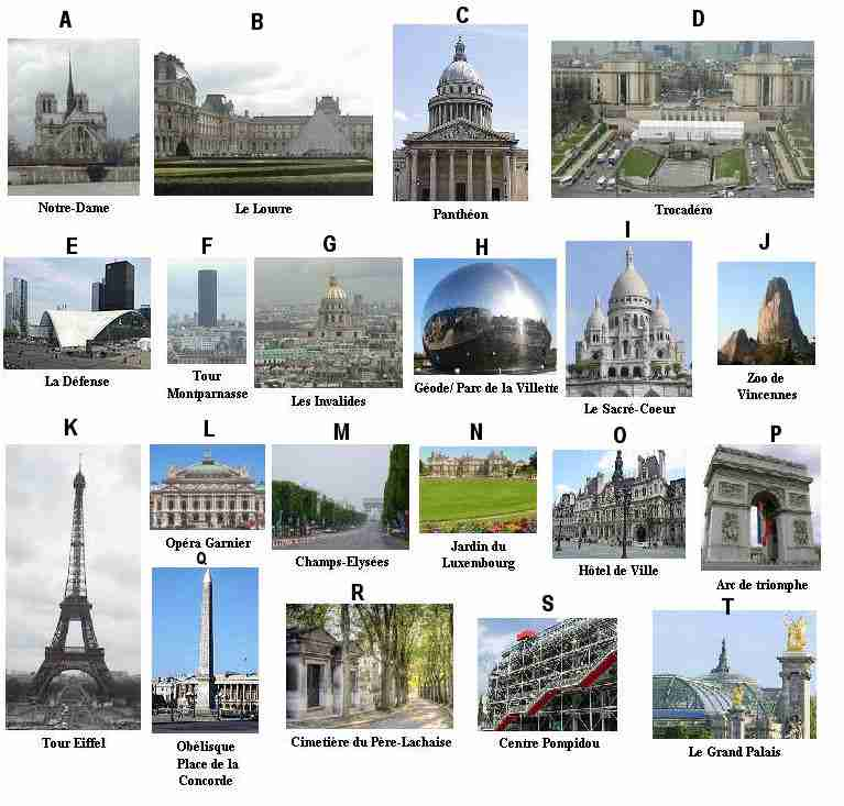 Quiz Paris