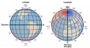 globe terrestre meridien